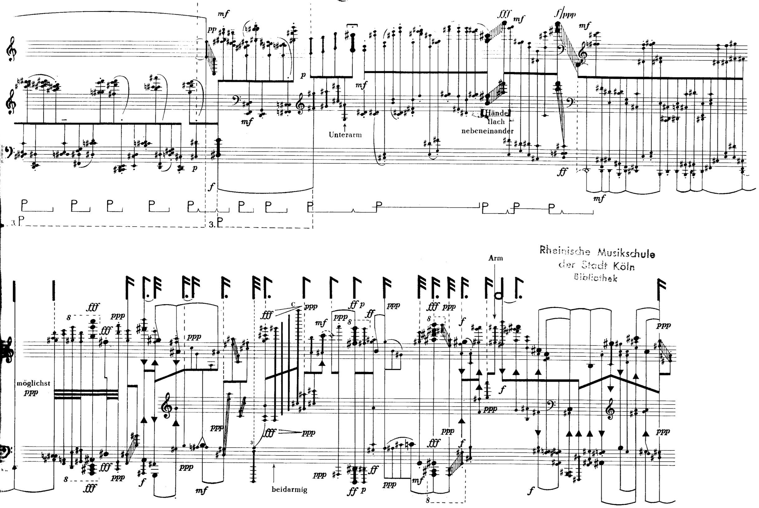 Salvatore Sciarrino Piano Sonatas 1976 1994 Notes Diagram With Screen Shot 2014 10 29 At 101315 Am